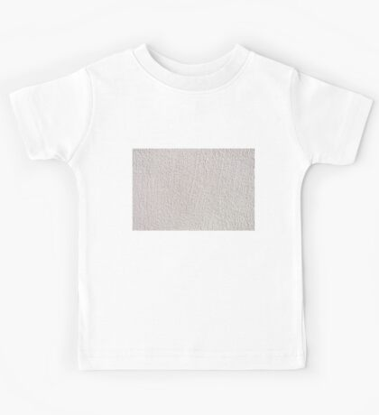 White grained wall surface texture  Kids Tee