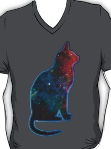 Space cat, Universe, Kosmos, Galaxy, Star T-Shirt