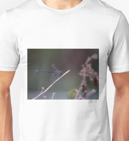 Dragon fly resting Unisex T-Shirt