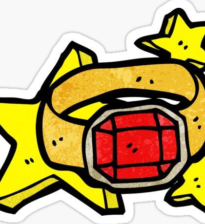 cartoon magic ring Sticker
