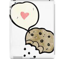 i love cookies cartoon iPad Case/Skin