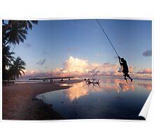 Swinger - Pakin Atoll, Micronesia Poster
