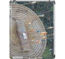 target for shooting iPad Case/Skin