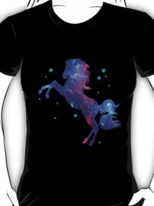 Space Horse, Universe, Kosmos, Galaxy, Star T-Shirt