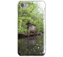 Houseboat - Pohnpei, Micronesia iPhone Case/Skin
