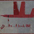 red wings. boarding by Nikolay Semyonov