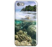 Black Coral Island - Pohnpei, Micronesia iPhone Case/Skin