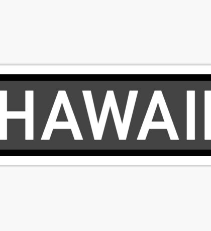 Hawaii C Sticker