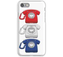Old fashioned telephone iPhone Case/Skin