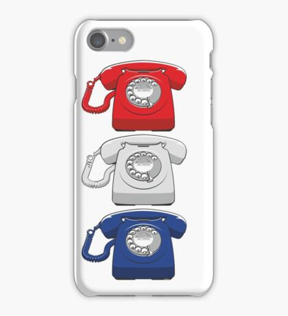 Old fashioned telephone iPhone Case/Skin