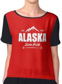 Alaska Share  Chiffon Top