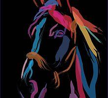 Horse - Colour me beautiful by Go van Kampen