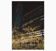 Millions of Christmas Lights in the Heart of Manhattan, New York City Baby Tee