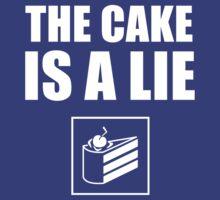 The Cake Is A Lie - Portal by ermisenda