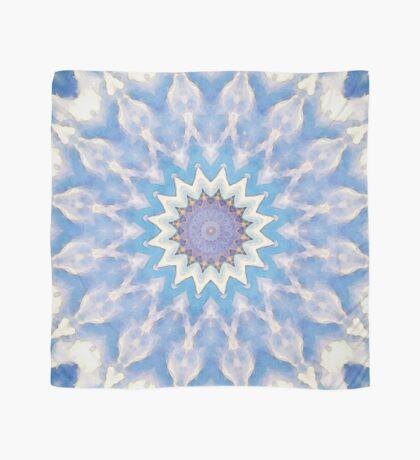 Textural Blue Star Scarf