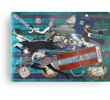 Time Travellers Metal Print