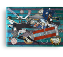 Time Travellers Canvas Print
