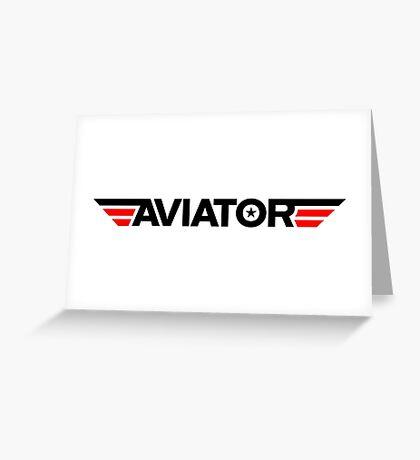 Aviator Greeting Card