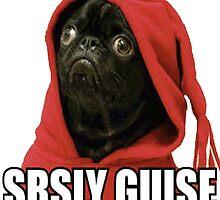SRSLY GUISE Pug Gif Meme by SquallAndSeifer