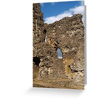 Sherborne Old Castle (10) Greeting Card