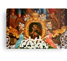 Miraculous image of Our Lady of Inzing Tyrol Metal Print