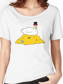 Fabulously Wealthy Duck Women's Relaxed Fit T-Shirt