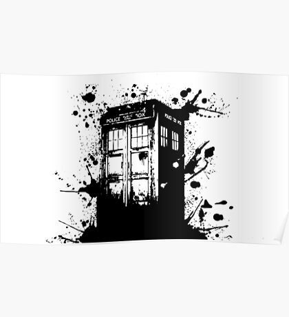 Tardis - Doctor Who  Poster