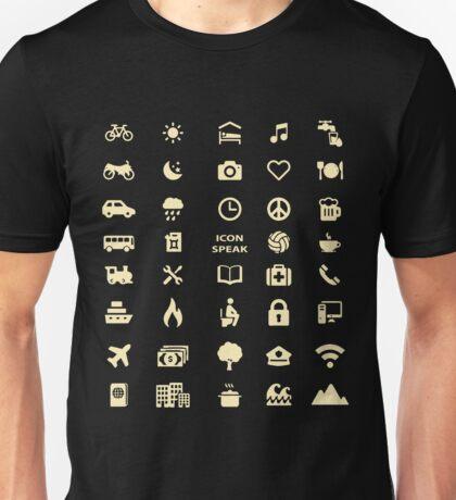 Cruise Travel Icon T-shirt Unisex T-Shirt