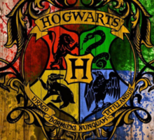 hogwarts university Sticker
