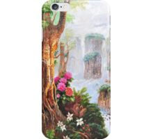 Chinese landscape painting iPhone Case/Skin