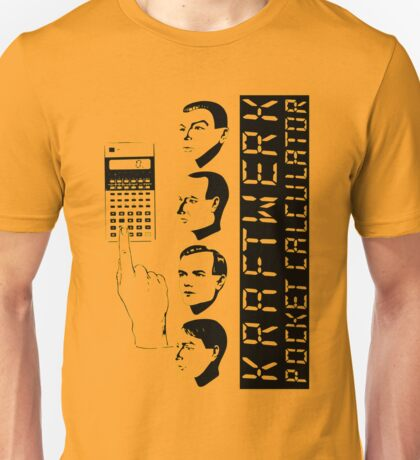 KRAFTWERK - COMPUTER WORLD - POCKET CALCULATOR Unisex T-Shirt