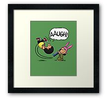 Good Grief Louise! Framed Print