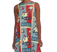 INVADE A-Line Dress