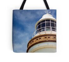 lighthouse at the bay Tote Bag
