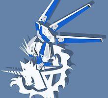 RX-93-ν2 Hi-ν Gundam  by kinokashi