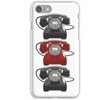 Classic telephone iPhone Case/Skin