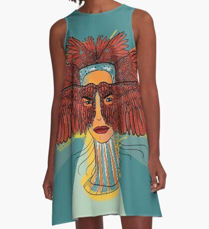 Wish I Could A-Line Dress