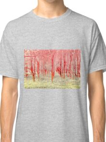 Autumn woods color electric Classic T-Shirt