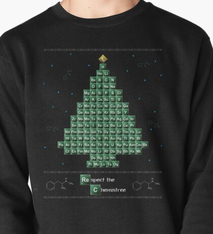 Breaking Bad Chemistree Ugly Christmas Sweater Pullover