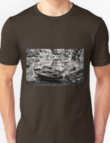 Danube Boats Autumn River Unisex T-Shirt
