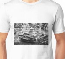 Danube Boats Autumn River Unisex T-Shirt