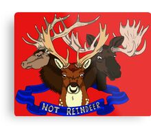 Not Reindeer Metal Print