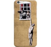 Banksy - Park Street Indiscretion iPhone Case/Skin