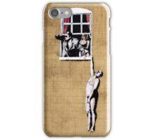 Banksy - Park Street Indiscretion iPhone Case/Skin