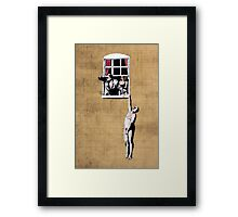 Banksy - Park Street Indiscretion Framed Print