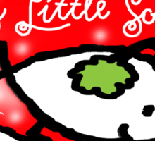Have Yourself a Merry Little Solstice! Sticker