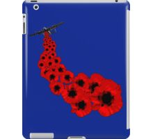 Poppy day Remembrance iPad Case/Skin