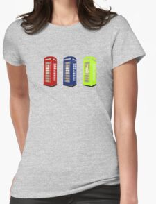 The Phone Booths Womens Fitted T-Shirt