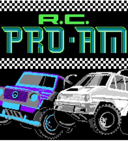 R.C. Pro-Am (NES Title Screen) Sticker