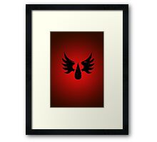 Blood Angels - Sigil - Black - Warhammer Framed Print
